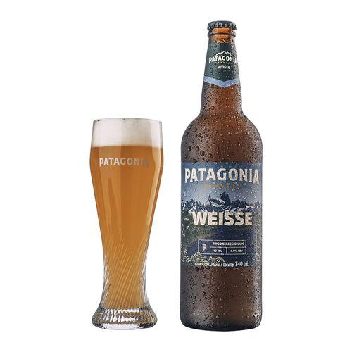 Kit Patagonia Weisse 740ml + Copo Riegsee 300ml